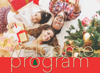 The Pre-Christmas Welcome Program takes off! 48/16 OR - 50/16 OR