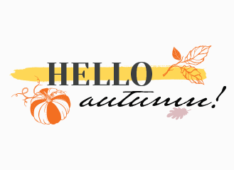 Let's welcome autumn!