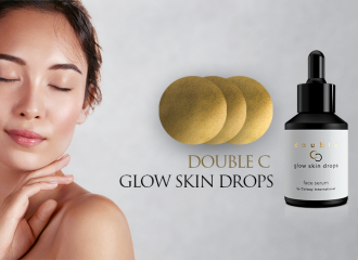 Premiere: Double C Glow Skin Drops face serum